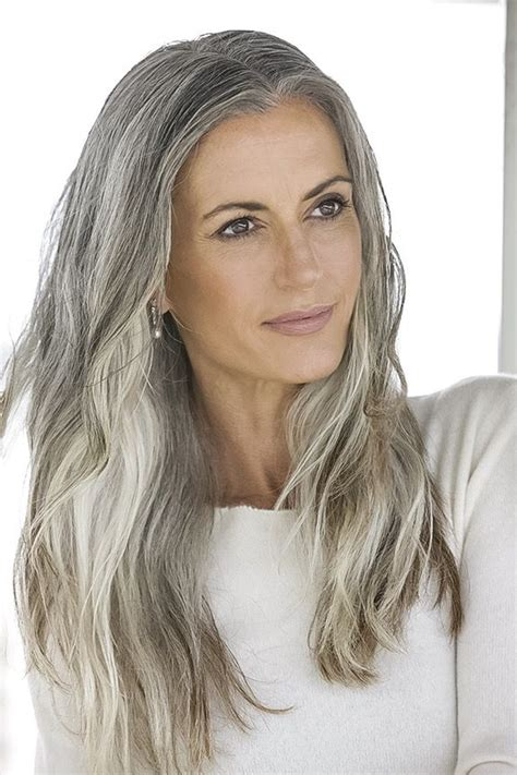 hairstyles for young women with gray hair 25 best ideas about long gray hair on pinterest long