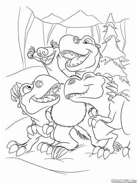 diego dinazor kurtarma resmi coloriage 194 ge de glace 3 le temps des dinosaures