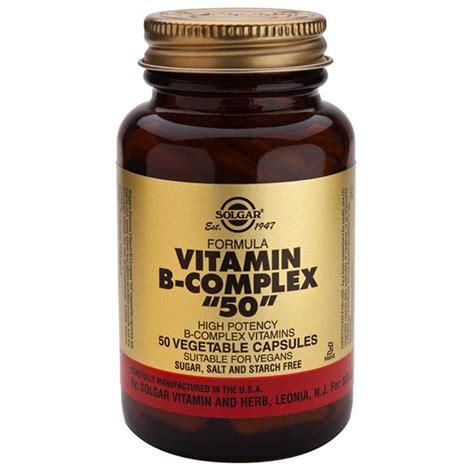 Vitamin B Complex solgar formula vitamin b complex quot 50 quot capsules ebay