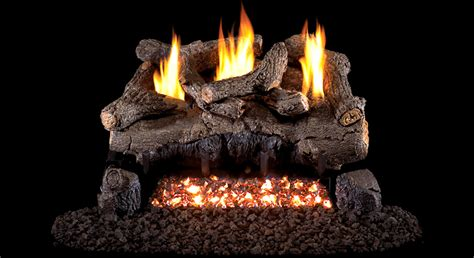 Ventless Gas Logs Real Fyre 30 Quot Evening Fyre Ventless Propane Gas Logs Set