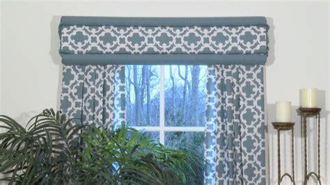 No Sew Cornice Window Treatments Deco Wrap Easy Cornice And Panel Style Windows Deco Wrap