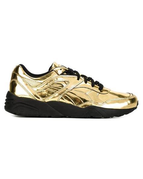 gold sneakers for x vashtie metallic sneakers in gold for metallic