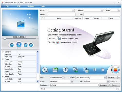format video divx convert dvd vob to divx xvid avi formats with dvd to