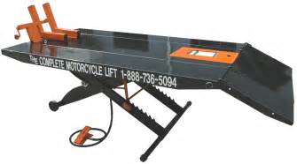 motorcycle lifts tcmlw motorcycle lift 48 quot extended
