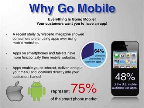 mobile app presentation restaurant mobile app presentation