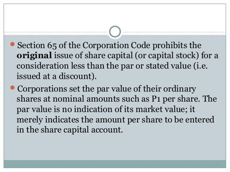 nominal account section share capital
