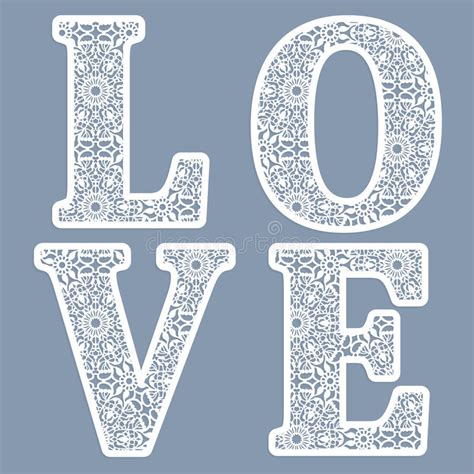templates for the word love templates for cutting out letters of the word quot love quot may