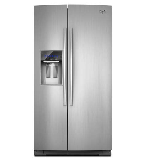 Kitchen Cabinet Door Dimensions by Whirlpool Refrigerator Brand Gsc25c6eyy Side By Side