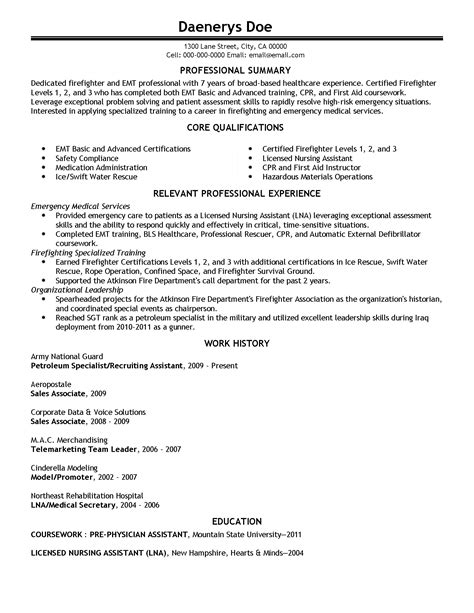 professional emergency technician templates to