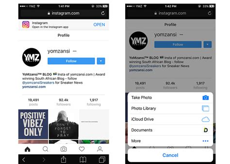 mobile site instagram instagram now allows you to post photos from their mobile