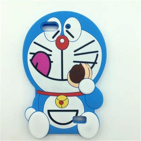 Silikon 3d Doraemon Iphone 5 doraemon karikat 252 rler promosyon tan箟t箟m 252 r 252 nlerini al