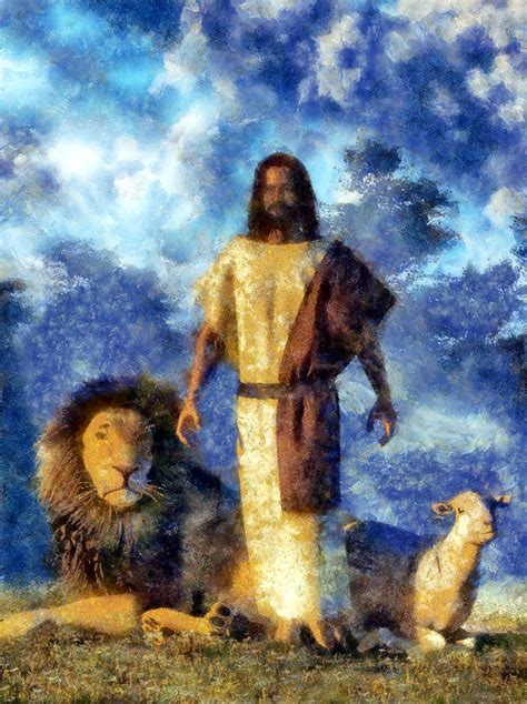 Lions And Christians the and the painting by christian