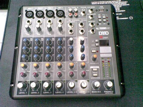 Mixer Monitor Audio 8 Chanel fans