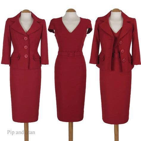 8 Advantages Of Vintage Style by Size 8 Next 3 Shift Dress Pencil Skirt Suit