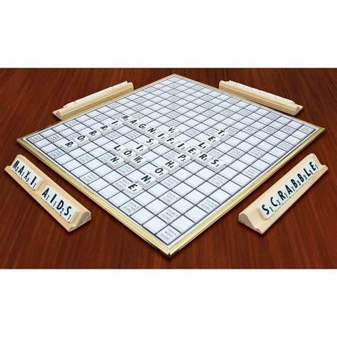 large print scrabble tiles maxiaids deluxe scrabble for low vision