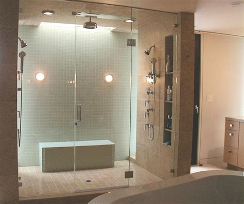 Glass Kitchen Tile Backsplash Ideas by Shower Enclosures