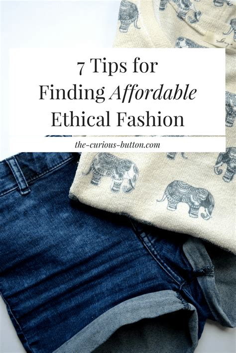 7 Tips On Finding A by 7 Tips For Finding Affordable Ethical Fashion The