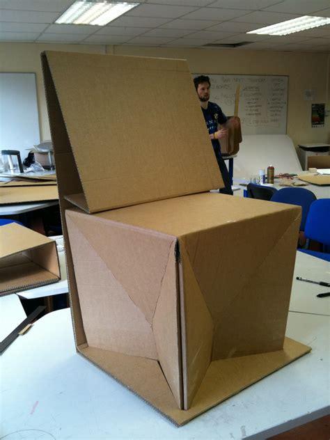 cad cj chiariello cardboard chair project this