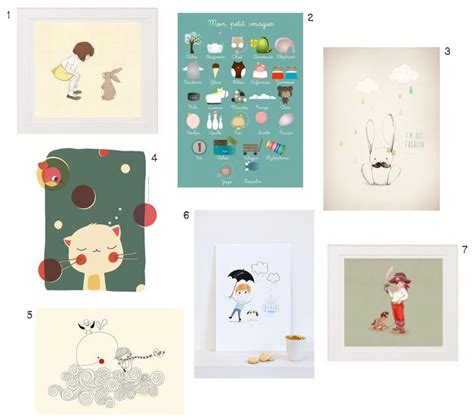 affiche chambre enfant d des affiches pour d 233 corer une chambre d enfant