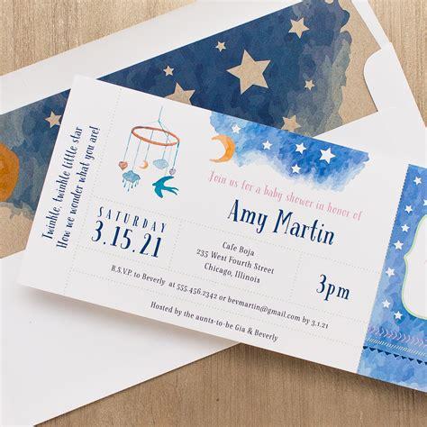 Twinkle Twinkle Baby Shower Invites by Twinkle Twinkle Baby Shower Invitations