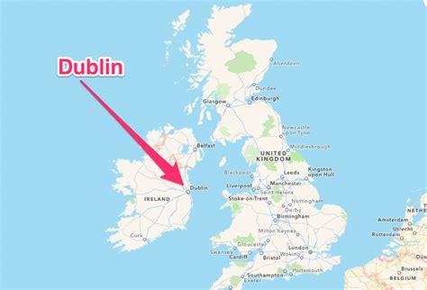 Google Dublin by Dublin Ireland Map World Map 07