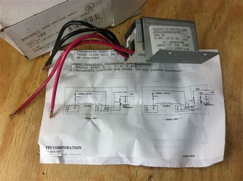 220v pole thermostat wiring diagram