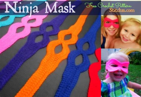 pattern for ninja turtle mask ninja turtle mask free pattern crochet pinterest