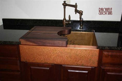 rachiele copper farm sinks hundreds of photos of copper sinks installed in kitchens