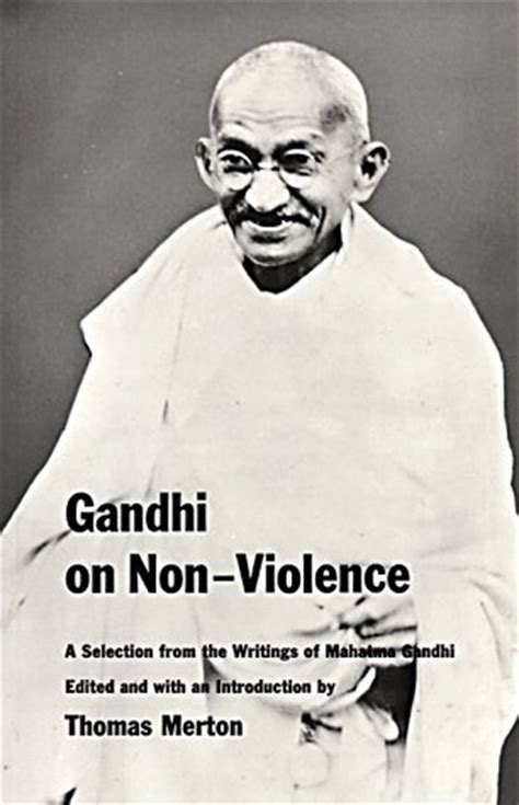 book review biography mahatma gandhi gandhi on non violence