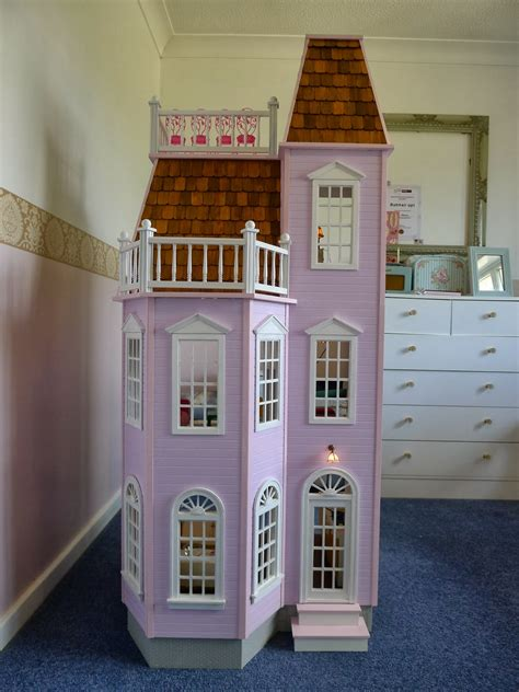 used dolls house littlest sweet shop real good toys playscale 1 6 victorian townhouse doll house