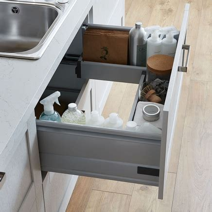 Kitchen Sink Drawer Sink Storage Drawer Kitchen Drawer Storage Howdens Joinery