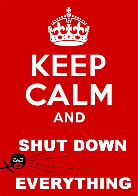 Shut Down Everything Meme - bbm antisocial media