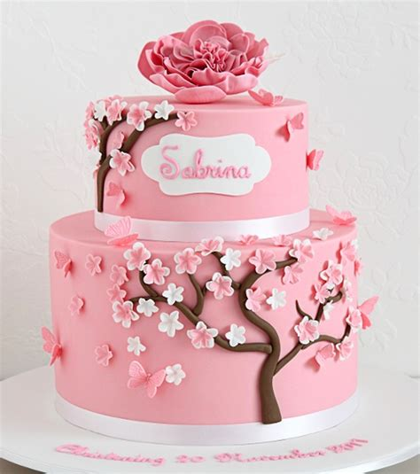 Artificial Tree For Home Decor cherry blossom cakes american cake decorating cherry