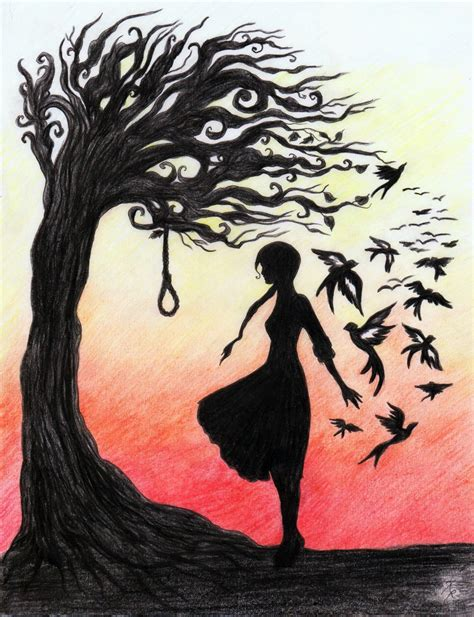 hanging trees hanging tree by la chapeliere folle on deviantart