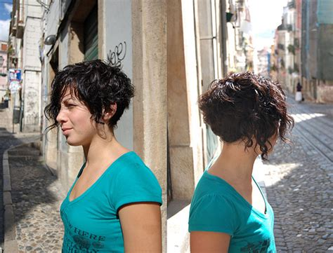 the back if an asymmetrical short curl haircuts bobs for curly hair picture