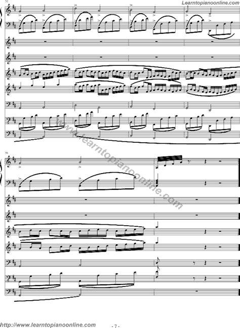 pachelbel stvenli christmascanon  piano sheet  learn   play piano