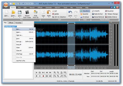 song editor avs audio editor download