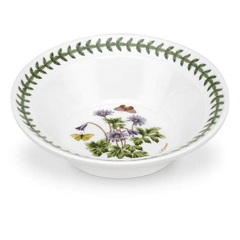 Portmeirion Botanic Garden Bowl Portmeirion Botanic Garden 6 Inch Oatmeal Bowl Wind Flower Portmeirion Uk