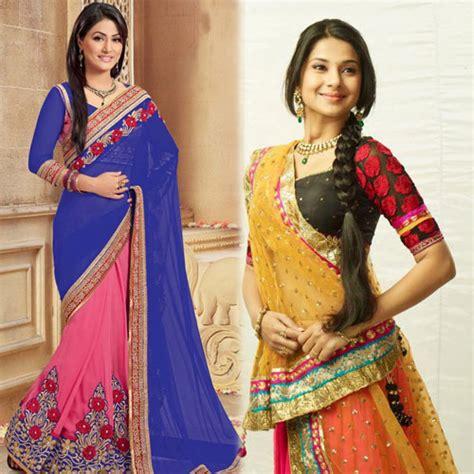 best way to drape saree tv celebs best ways to drape a saree slide 1 ifairer com