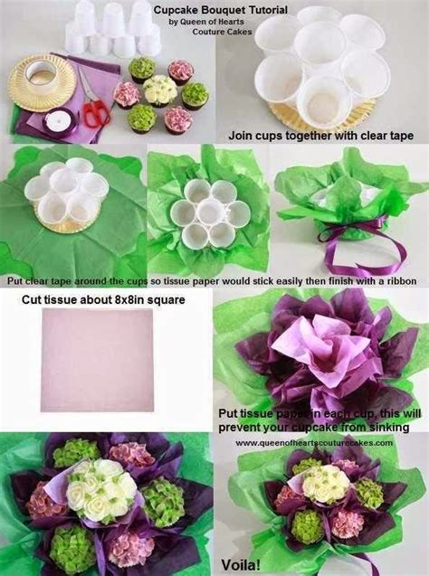 floral arrangement cupcake tutorial tutorial how to diy cupcake bouquet with cups instead of