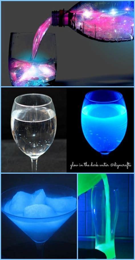 ingenious science project    glow   dark