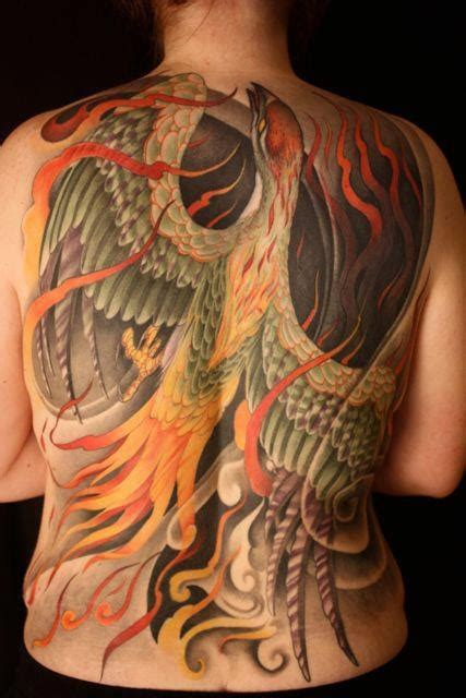 tattoo phoenix back back tattoos and designs page 439