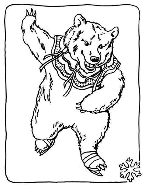 coloring pages bears printable free printable bear coloring pages for kids