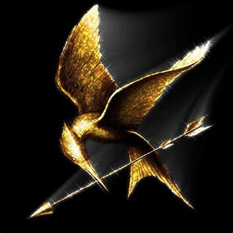 Gelang Mockingjay Gold 1 gold mockingjay hungry for hunger