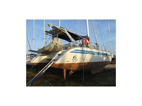 kronos catamaran for sale kronos 45 in port gapeau catamaran sailboat used 68565