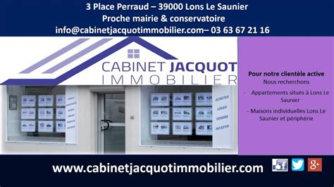 Cabinet Jacquot Immobilier by Cabinet Jacquot