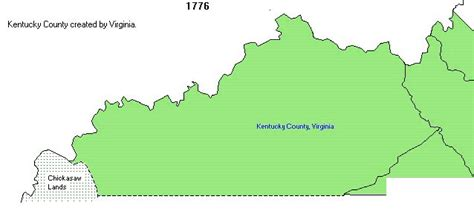 kentucky map formation kentucky county formation map ancestor connections
