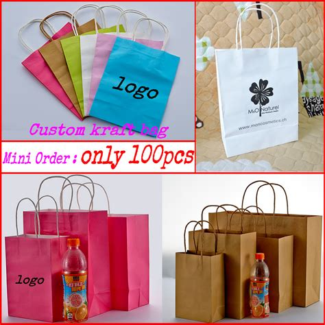 Shopping Bag Paperbag New Year Xincia Size S custom printed gift kraft paper bags shopping bag packaging bag 100pcs lot in gift