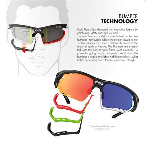 Rudy Project Lensa Minuspluscylinder rudy project fotonyk sunglasses graphite white frame multi blue lens