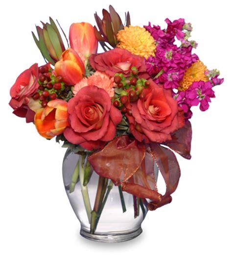 fall flirtations vase arrangement in petersburg fl